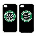 Caffeine | Rubber And Plastic Phone Cover Case |  Science Parody Starbucks Style