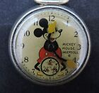 Vintage 1930s Mickey Mouse Ingersoll Pocket Watch