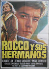 XI99 ROCCO AND HIS BROTHERS LUCHINO VISCONTI ALAIN DELON rare 1sh SPANISH POSTER