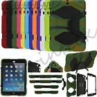 New Heavy Duty Shock Proof Stand Case Cover For Apple iPad 6 5 4 3 2 Air Mini