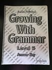 Growing With Grammar Answer Key To WorkbooK Level 5 5th Grade Fifth Language Art