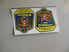 POLICE FORCE STICKERS PROMO SET WILLIAMS   ARCADE GAME  FLYER CFC