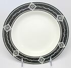 Sakura - Majesticware - Black Diamond - Rim Soup / Cereal Bowl - Sue Zipkin 1994