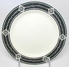 Sakura - Majesticware - Black Diamond - Salad Plate - Sue Zipkin - 1994