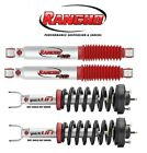 For Rancho 2 Front Strut Assemblies & 2 Rear Shock Absorbers for 09-16 Ram 1500