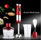 4 in 1 Electric Blend Mixer Set Detachable Hand Mixer Food Juice Vegetable Milk