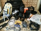 Canon EOS Digital Rebel XTi 400D 101 MP SLR Camera Silver Full Kit