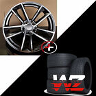 20 in Sportback 1329 Style Wheels Gunmetal W Tires Fits Audi Q5 SQ5 2017 Q7 Rims