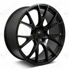 20 Hellcat Style Wheels Satin Black Rims Fits Dodge Magnum Charger Challenger