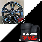 20 Wheels Tires fits BMW 6 Series 7 Series M6 Sport Style 433 F12 Rims Black