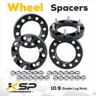 4X Wheel Spacer Adapters 1 Thick 6X55 12x15 Fit For GMC Tacoma 4Runner 6 Lug