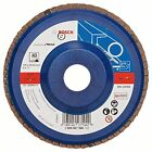 Bosch 2608607365 125 Mm 40 Grit Metal Flap Disc Color: Blue New UK SELLER