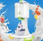 Ice Cream Maker Machine Old Fashioned Electric Yogurt Frozen Soft Sorbet White