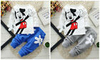 Baby clothes toddler boy kids boy clothes pullover top pants outfits cartoon