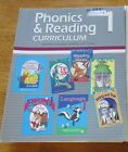 A Beka Home School Phonics and Reading 1 Curriculum Lesson Plans