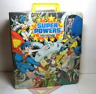 1984 Kenner DC Super Powers Action Figure Collection Carrying Case Complete