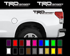 Trd Sport Decals Toyota Tundra Tacoma Racing Truck Bed Vinyl Stickers X2