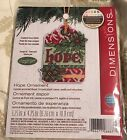 Counted Cross Stitch Kit HOPE ORNAMENT Susan Winget