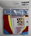 AUTHENTIC NEW ANDREW CHRISTIAN TROPHY BOY GIGOLO SEE THROUGH BOXER / RED, MEDIUM