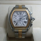 Cartier 2618 Roadster Stainless Steel Automatic Chronograph Movement W62027Z1