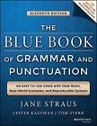 The Blue Book of Grammar and Punctuation An Easy to Use Guide with Clear NEW