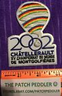 RARE French Hot Air Balloon Patch Chatellerault World Championship 2002 #3U