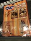 1989 KENNER STARTING LINEUP BASEBALL GREATS BOB GIBSON STAN MUSIAL CARDINALS M