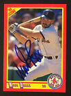 Wade Boggs Red Sox Yankees signed 1990 Score baseball card #245 auto Autograph