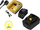 3A battery + charger for MAKITA 18V DGD800Z DIE STRAIGHT GRINDER