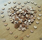 100PCS Rustic Wooden Love Heart Wedding Table Scatter Decoration Crafts 2017 New