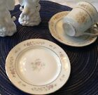 Dessert Set - Cups/Saucers/Dessert Plates for 12 - Lenox Porcelain-NOW $50