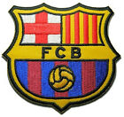 1 X Fc Barcelona Logo Badge Football Soccer Iron on Embroidered Patch Emblem