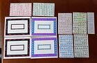 Mrs Grossmans stickers LOT of alphabets and Frames40+FREE SHIP