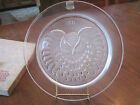 VINTAGE LALIQUE CRYSTAL 1971 ANNUAL COLLECTOR PLATE