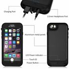 WaterProof Power Bank External Charger Battery Case Cover for iPhone X 7 6S Plus