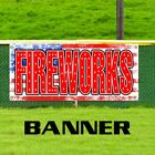 Fireworks Business Advertising Vinyl Banner Sign Firecracker Sale Shop July 4th