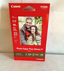 Canon Pixma Photo Paper Plus Glossy II PP 201 4x6 New Sealed 100 Sheets