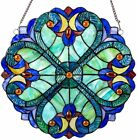Suncatchers For Windows Stained Glass Panel Tiffany Victorian Style Glass Decor