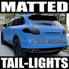 Black Out Matte Taillight Tint Smoked Head Fog Tail Light Vinyl Tinted Film C92