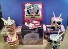 DONVIER Red Pint Ice Cream Maker Ben & Jerry's Dessert Book Cone & Cow Dishes