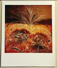 VINTAGE COLOR POLAROID PHOTO ABSTRACT Expressionist ART A1 Nice Image