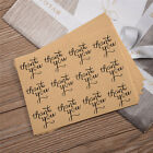 120PCS Thank You Craft Packaging Seals Paste Sealing Sticker Label Cute Paper