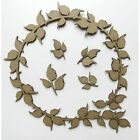Creative Embellishments Chipboard Leafy Circle Frame