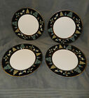4 Fitz and Floyd China Chinoiserie Dinner Plates FF41