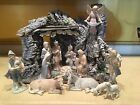 The Valencia Collection by Roman Nativity Set 13 figures Plus Manger