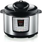 Instant Pot Programmable Electric Pressure Cooker 6Qt 1000W Healty Food Cooking
