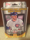 2015 Topps Chrome Baseball RETAIL Box! Includes 4 Exclusive Pink Refractors!!!