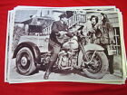 1940 'S ? HARLEY DAIVDSON POLICE TRIKE  11 X 17  PHOTO   PICTURE