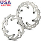 Front & Rear Brake disc For KTM 450 SX-F 03-12 500 MX 92 520 EXC 00-02 525 EXC