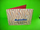 Seeburg LS3 APOLLO Original 1969 Jukebox Music Phonograph Promo Sales FLYER
